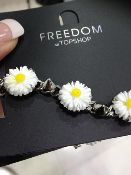 top shop daisy bracelet