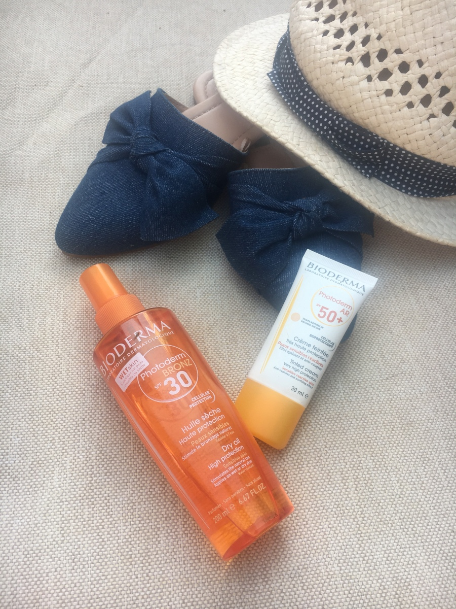 Oh to be a Beach Goddess, SPF's - the usual holiday musings  ...